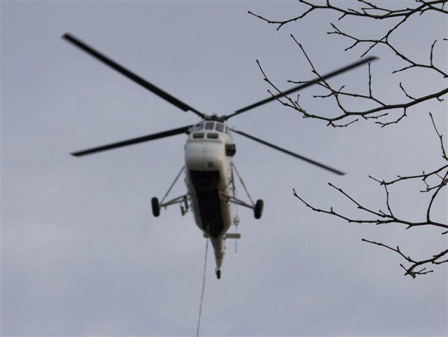 Helicopter HVAC Installation