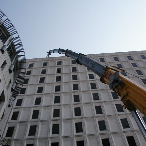 250 Ton Crane Installation